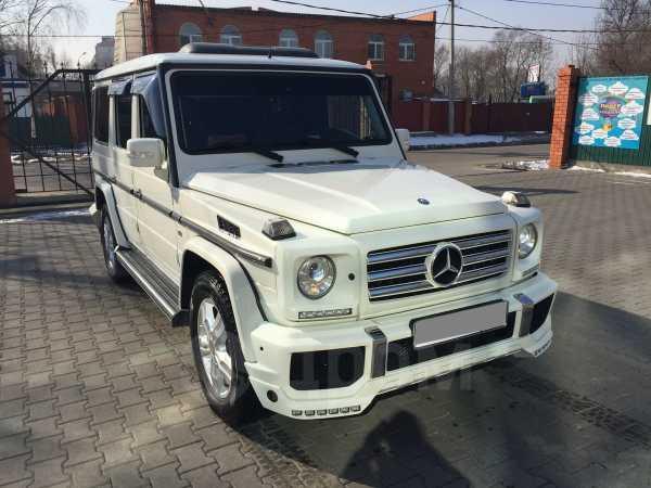 Mercedes-Benz G-Class, 2011 год, 4 450 000 руб.