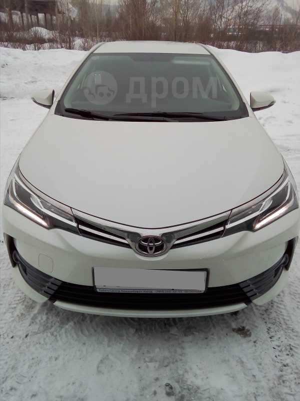 Toyota Corolla, 2017 год, 1 170 000 руб.