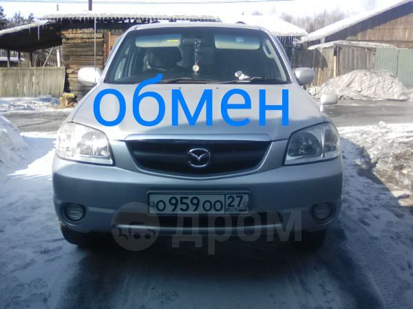 Mazda Tribute, 2001 год, 430 000 руб.