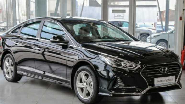 Hyundai Sonata, 2018 год, 1 403 000 руб.