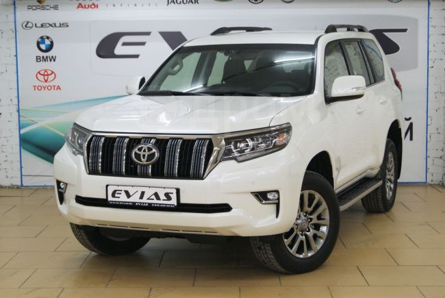Toyota Land Cruiser Prado, 2018 год, 3 370 000 руб.