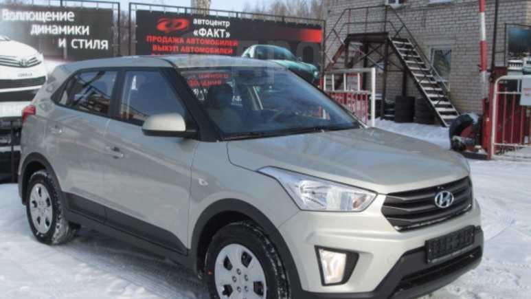 Hyundai Creta, 2018 год, 1 019 900 руб.