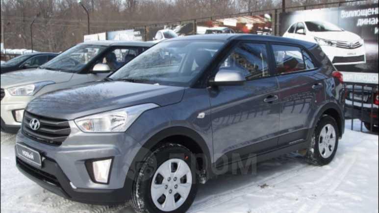Hyundai Creta, 2018 год, 969 900 руб.