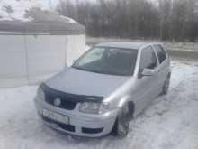 Volkswagen Polo, 2000 г., Омск
