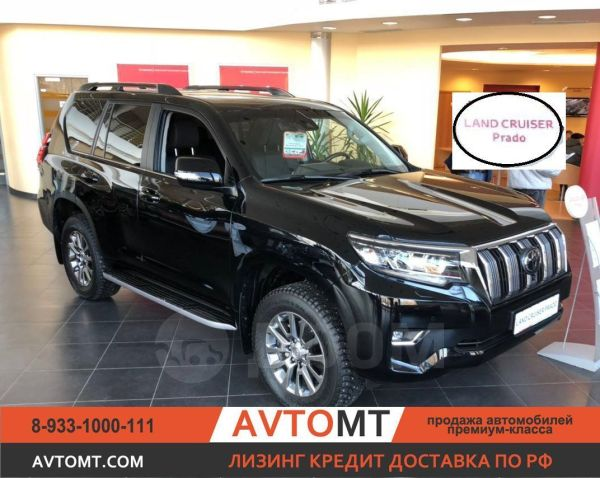 Toyota Land Cruiser Prado, 2018 год, 3 880 000 руб.