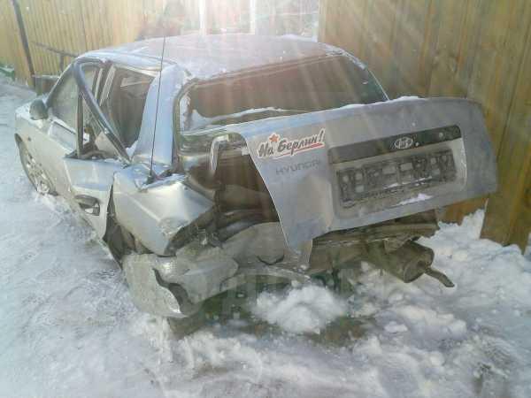 Hyundai Accent, 2008 год, 110 000 руб.