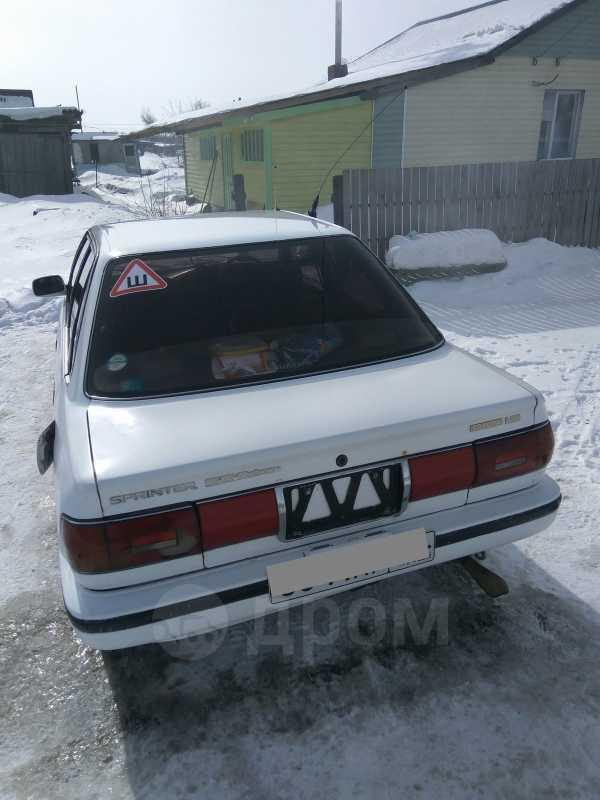 Toyota Sprinter, 1988 год, 85 000 руб.