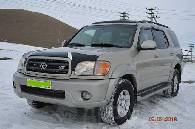 Toyota Sequoia, 2004 год, 1 100 000 руб.