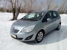 Opel Meriva, 2012 г., Красноярск