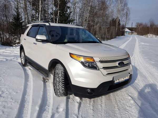 Ford Explorer, 2012 год, 1 400 000 руб.