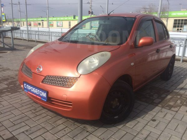 Nissan March, 2003 год, 162 000 руб.