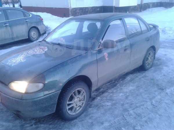 Hyundai Accent, 1996 год, 80 000 руб.