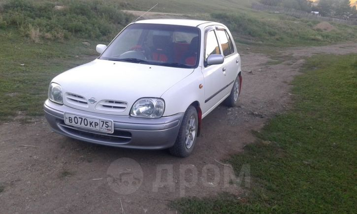 Nissan March, 2000 год, 110 000 руб.