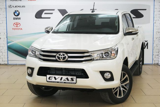 Toyota Hilux Pick Up, 2018 год, 2 590 000 руб.