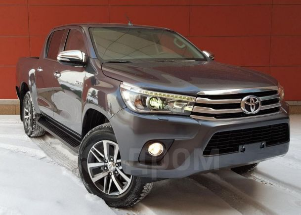 Toyota Hilux Pick Up, 2018 год, 2 635 000 руб.