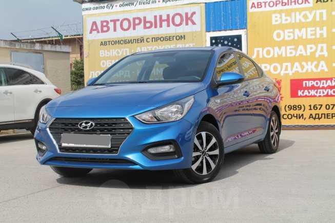 Hyundai Solaris, 2017 год, 875 000 руб.