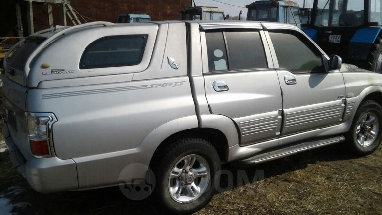 SsangYong Musso Sports, 2006 год, 120 000 руб.