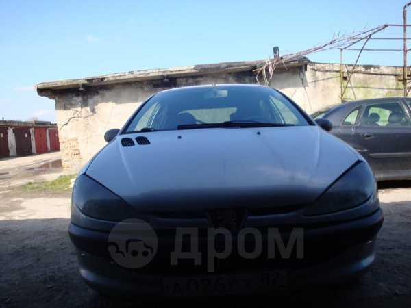 Peugeot 206, 2002 год, 145 000 руб.