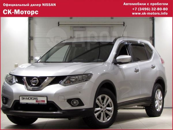 Nissan X-Trail, 2015 год, 1 495 000 руб.
