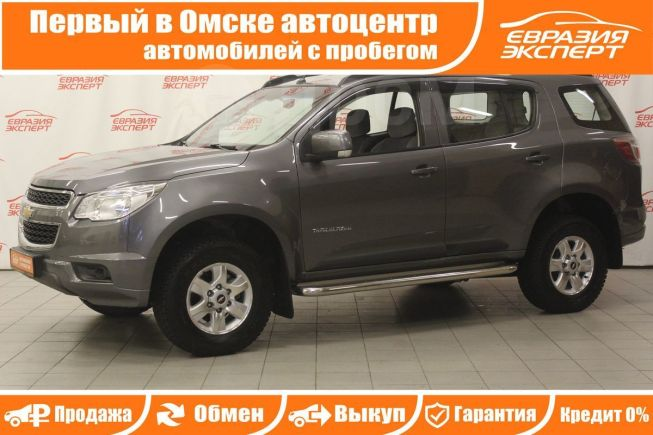 Chevrolet TrailBlazer, 2013 год, 1 260 000 руб.