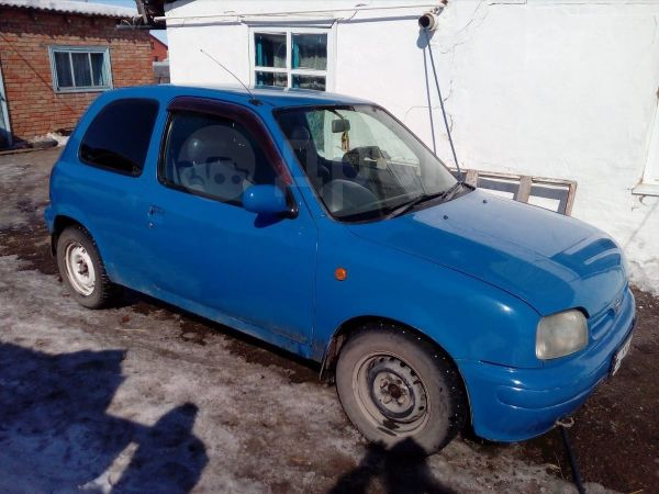 Nissan March, 1997 год, 75 000 руб.