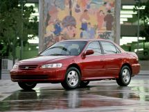 Honda Accord рестайлинг 2000, седан, 6 поколение, CF, CG