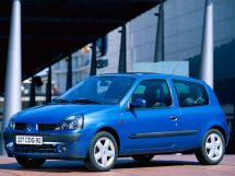 Renault Clio рестайлинг 2001, хэтчбек 3 дв., 2 поколение
