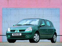 Renault Clio рестайлинг 2001, хэтчбек 5 дв., 2 поколение