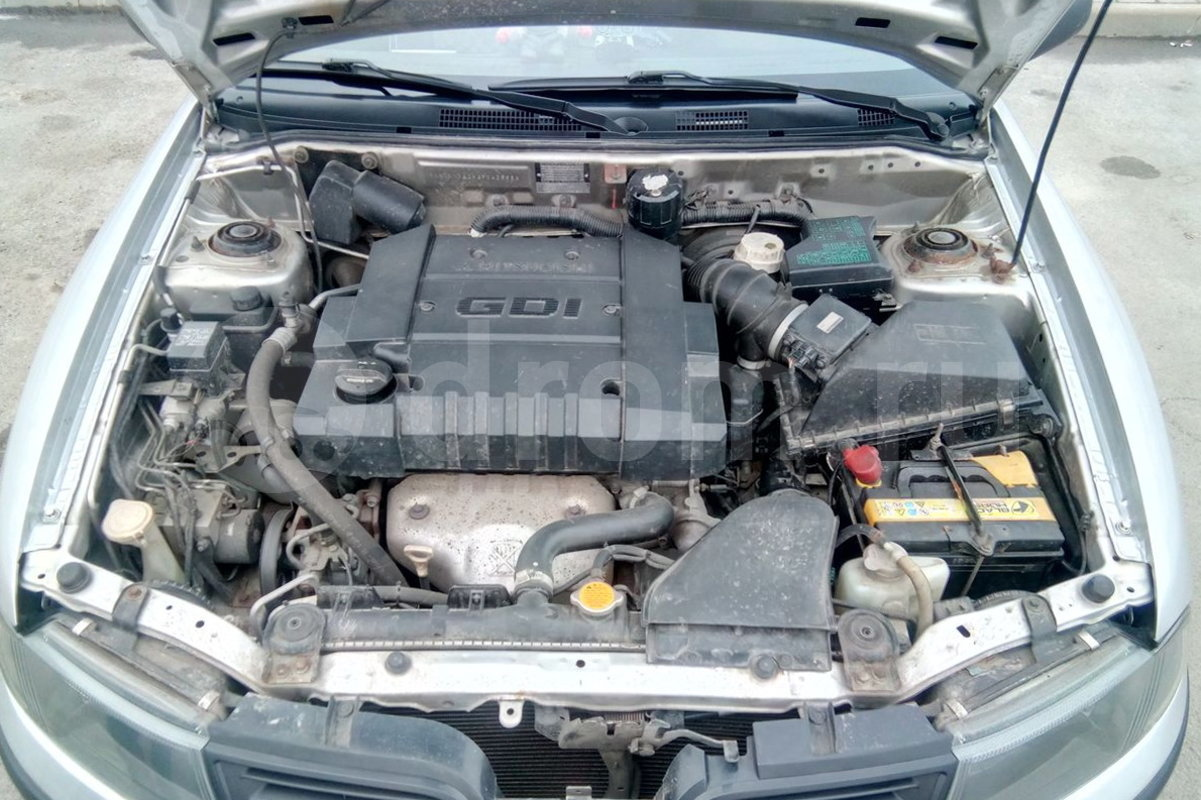 митсубиси мираж 2000 г.в с двигателем 4g93