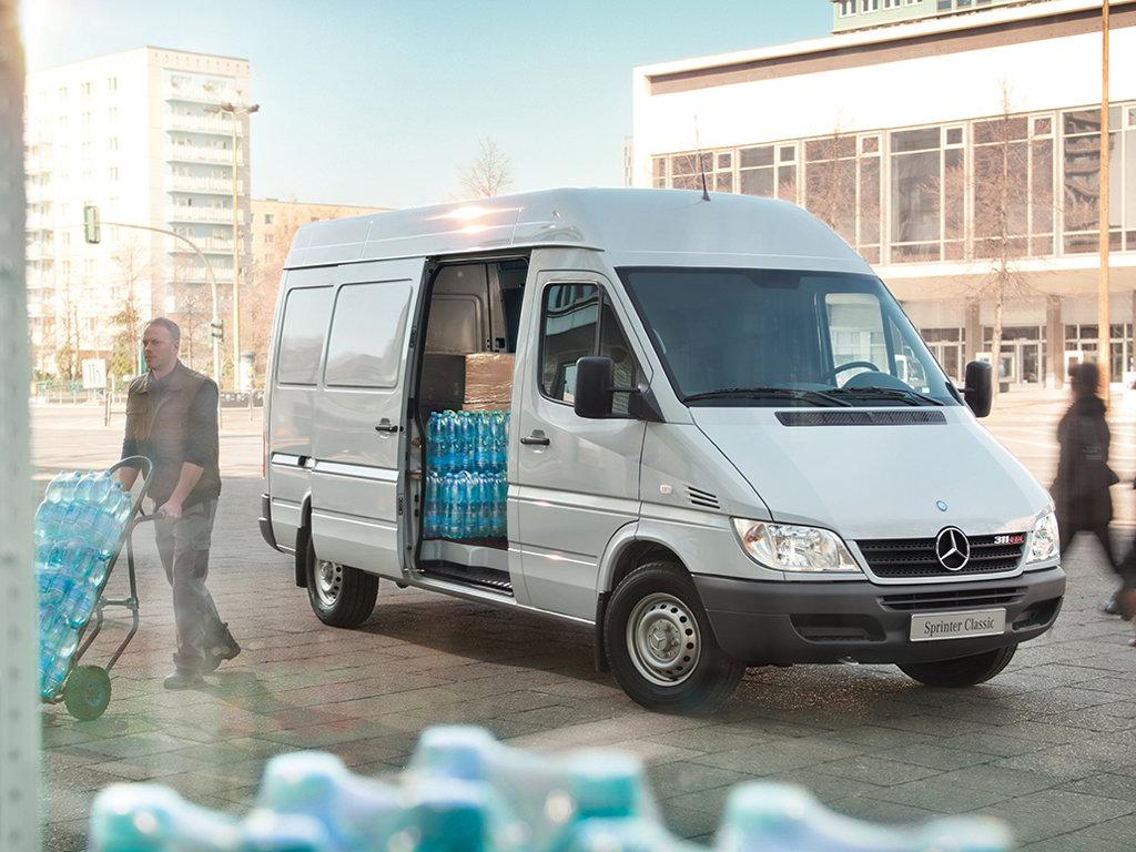 Внешняя и техническая модернизация немецкого фургона Mercedes