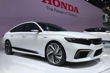 Honda представила прототип нового среднеразмерного седана
