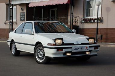 Народное ретро. Honda Integra 1985г. Святая простота