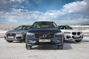 Сравнительный тест Audi Q5, BMW X3 и Volvo XC60. Балансиры