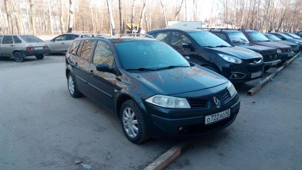 Renault Megane 2009 - отзыв владельца