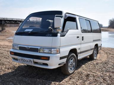 Nissan Caravan 1991 отзыв автора | Дата публикации 07.04.2018.