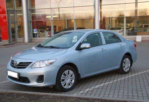 Toyota Corolla 2012 - отзыв владельца