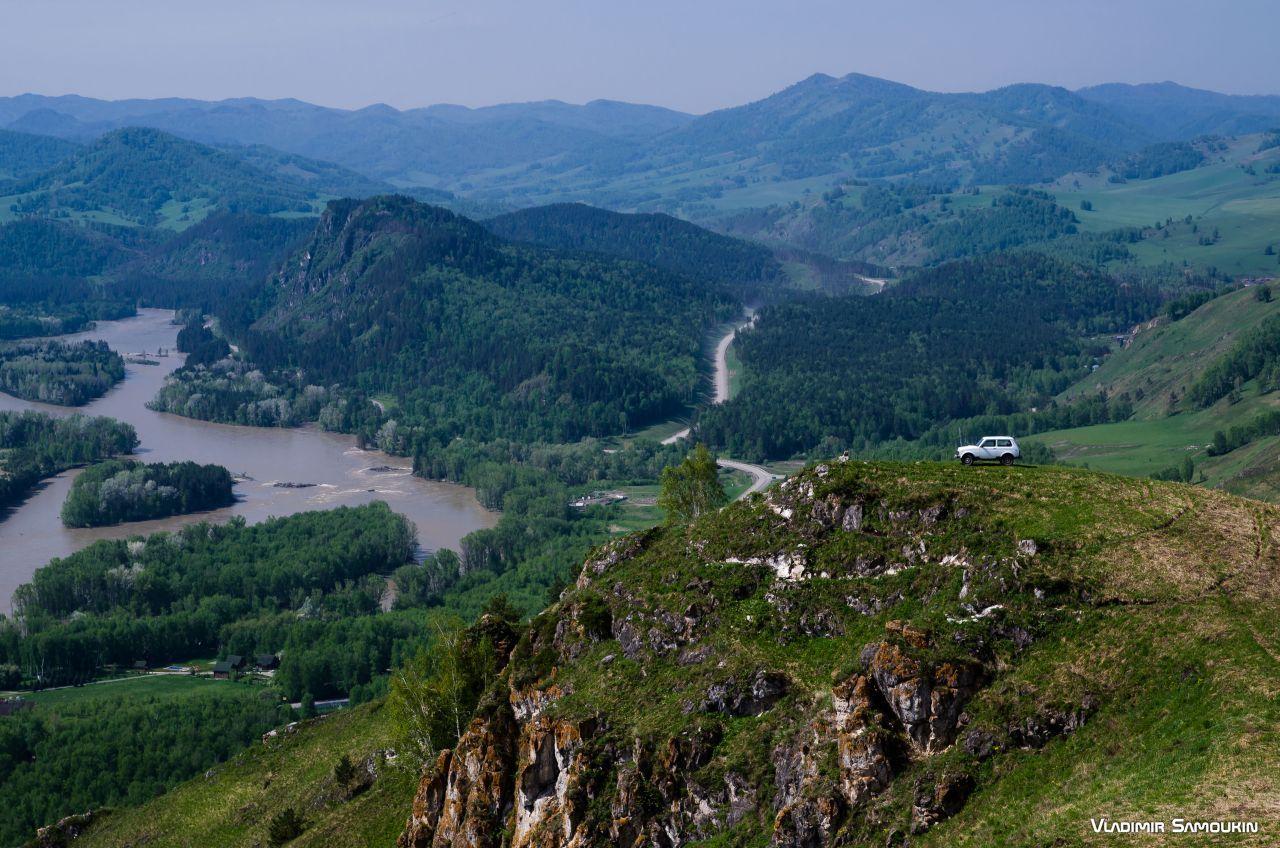 Над долиной Катуни