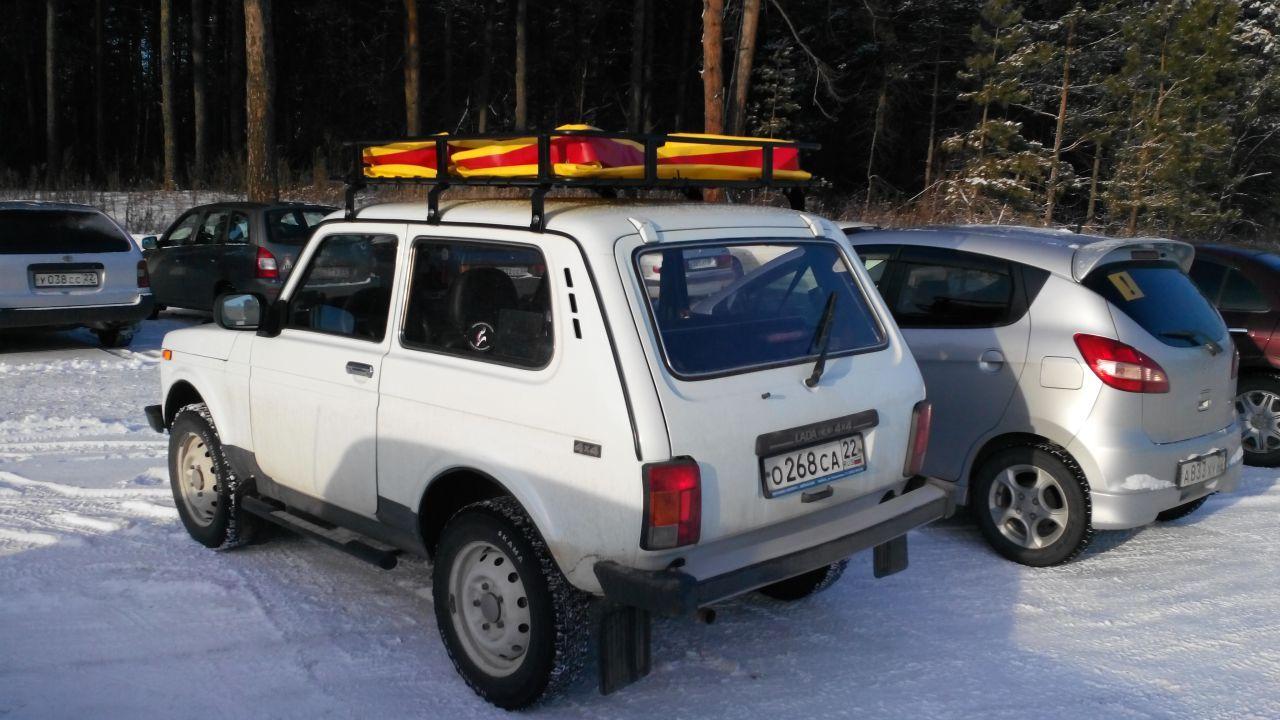 Новый экспедиционный багажник с кофрами из ПВХ