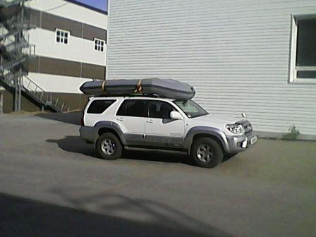 Toyota Hilux Surf 2008 - отзыв владельца