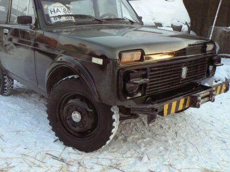 Лада 4x4 2121 Нива 1988 - отзыв владельца