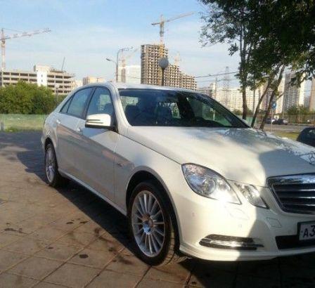 Mercedes-Benz E-Class 2012 - отзыв владельца