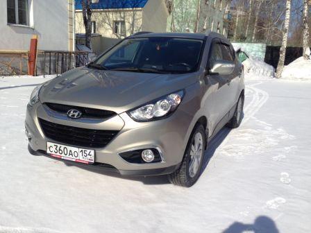 Hyundai ix35 2011 - отзыв владельца