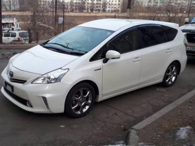 Toyota Prius a 2012 отзыв автора | Дата публикации 24.04.2018.