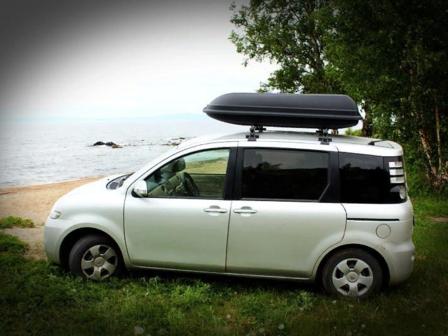 Toyota Sienta 2008 - отзыв владельца