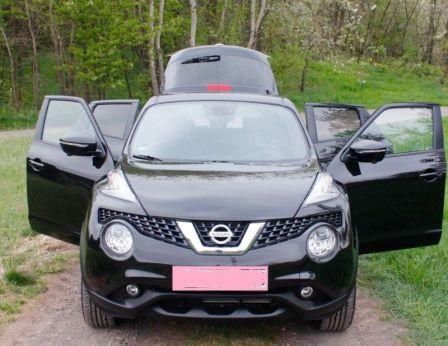 Nissan Juke 2017 - отзыв владельца