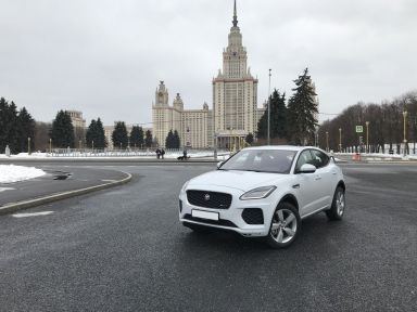 Jaguar E-Pace 2018 отзыв автора | Дата публикации 28.04.2018.