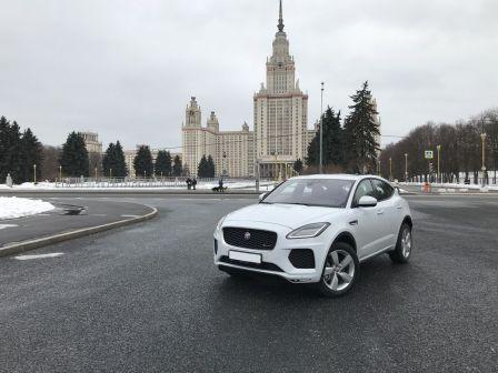 Jaguar E-Pace 2018 - отзыв владельца