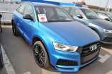 Audi Q3. ГОЛУБОЙ, МЕТАЛЛИК (HAINAN BLUE) (F7F7)