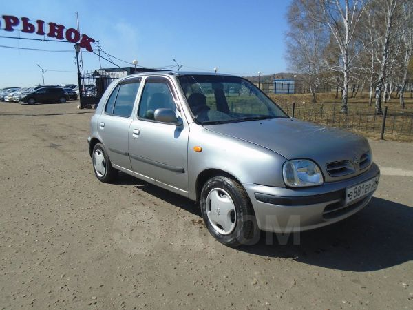 Nissan March, 1999 год, 123 000 руб.