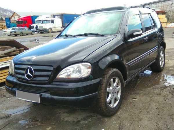 Mercedes-Benz M-Class, 2002 год, 405 000 руб.
